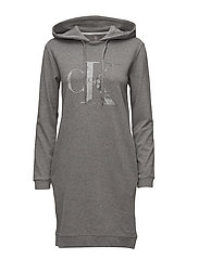 DARLA TRUE ICON HOOD - MID GREY HEATHER