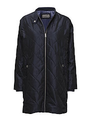 ORION QUILTED COAT, - PATRIOT BLUE