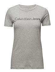 TAMAR-44 CN LWK S/S, - LIGHT GREY HEATHER