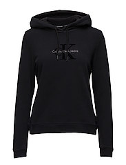 HONOR PULLOVER HOODY - CK BLACK