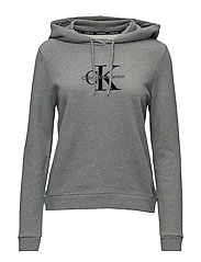 HONOR PULLOVER HOODY - LIGHT GREY HEATHER