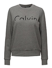 HADAR CN HWK L/S, 09 - MID GREY HEATHER