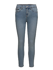 High Rise Skinny Ank - BISON BLUE