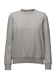 HONDI CALVIN CN HWK, - LIGHT GREY HEATHER