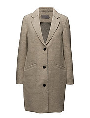 OBLISA COAT, 015, XS - SILVER MINK HEATHER