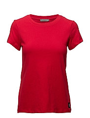 CORE TEE BASIC CN S/ - TANGO RED