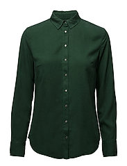 REGULAR SHIRT TENCEL - TREKKING GREEN