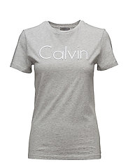 TANYA-39 CN LWK S/S, - LIGHT GREY HEATHER