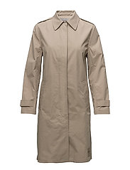 OLMA CAR COAT, 034, - SILVER MINK