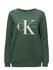 CREW NECK HWK TRUE I - TREKKING GREEN