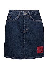 Mini Skirt-Banhof Bl - BANHOF BLUE RGD