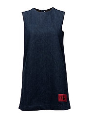S/Less Boxy Dress-Ba - BANHOF BLUE RGD