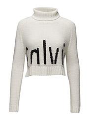 Camile tn sweater l/s - WHITE