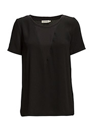 Ebba cn top s/s - BLACK