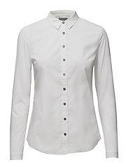 Walida woven shirt l - BRIGHT WHITE