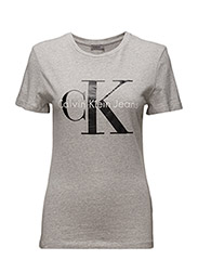 SHRUNKEN TEE - LIGHT GREY HEATHER