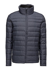 OPACK 1 PACKABLE DOWN JACKET - NIGHT SKY HEATHER
