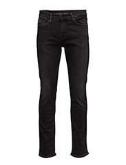 Slim Straight - Elas - ELASTIC BLACK