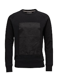 HOWARD 1 CN HKNIT LS - CK BLACK