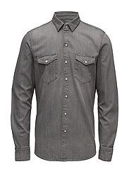 Classic Shirt - Grey - GREY ZONE