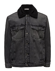 Sherpa trucker- Blac - BLACK TOP RIGID