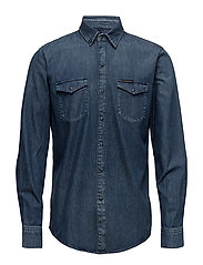 Classic Shirt - Slow - SLOW BLUE MID