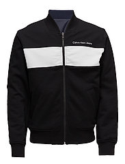 HARSOS REGULAR REVERSIBLE BOMBER LS - CK BLACK