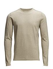 Contour 3 cn sweater l/s - GREY