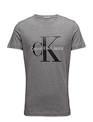 TEE TRUE ICON CN TEE SS - MID GREY HEATHER