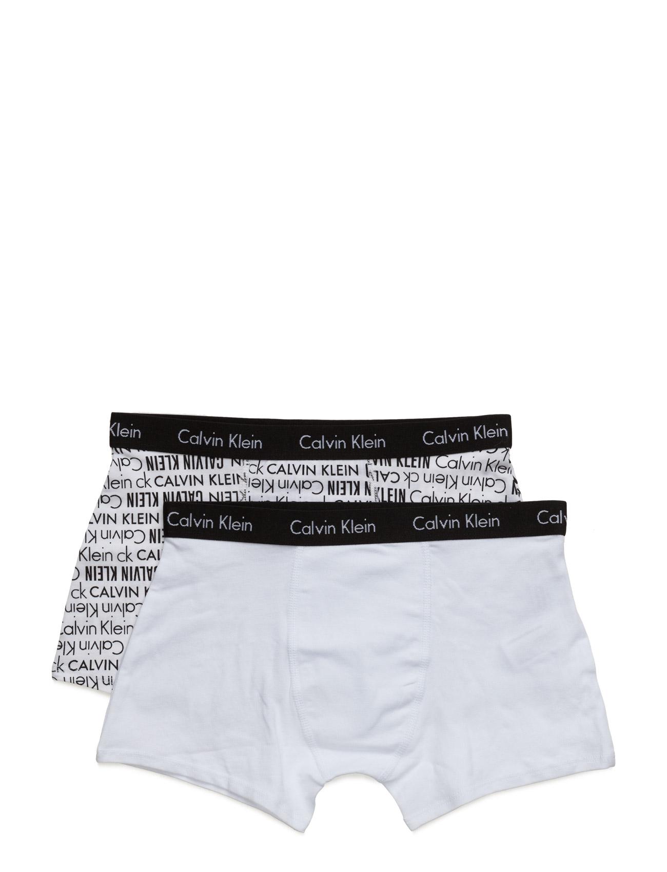 2pk Trunk Calvin Klein Kids Nat & Undertøj til Drenge i hvid