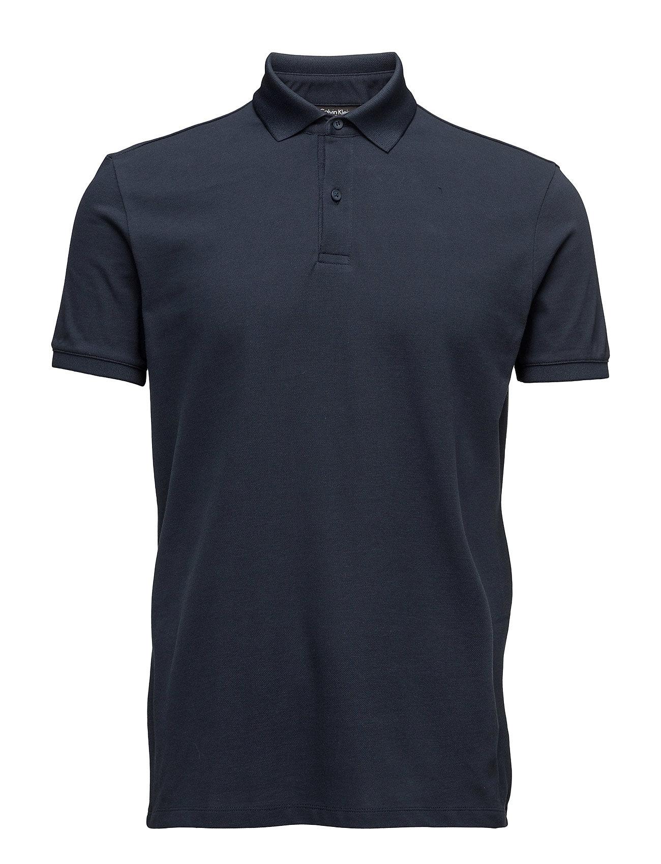 Jasso Refined Pique Calvin Klein Polo t-shirts til Mænd i