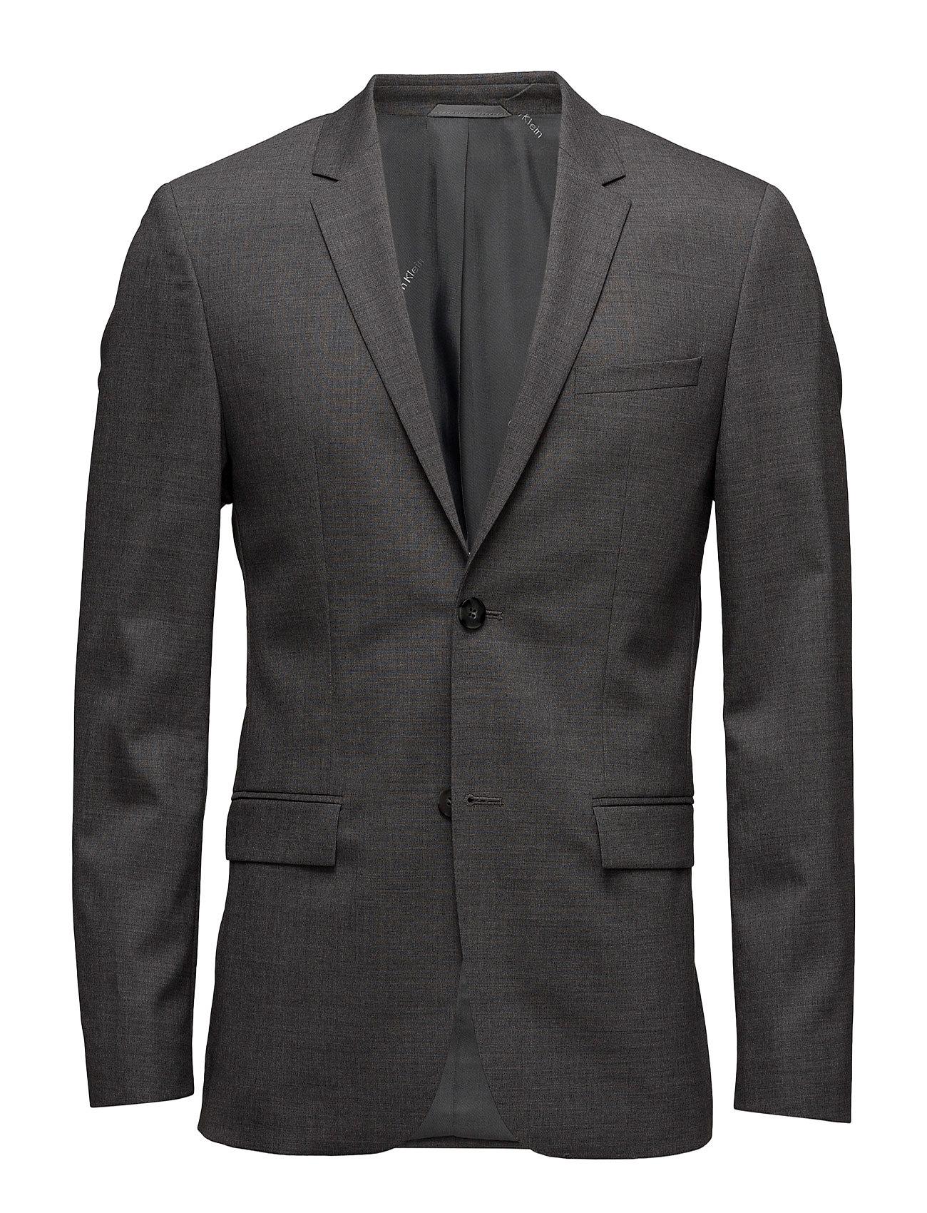 Tate-Bm Stretch Wool Calvin Klein Blazere til Herrer i Mellem grå