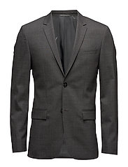 Tate-Bm Stretch Wool Calvin Klein Platinum Suits & Blazers