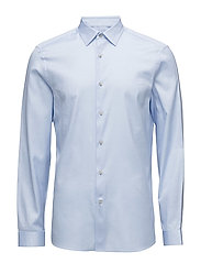 WALKER_C MICRO BIRDS - SHIRT BLUE