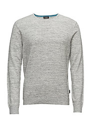 SAWAS STRUCTURED SPA - MID GREY HEATHER