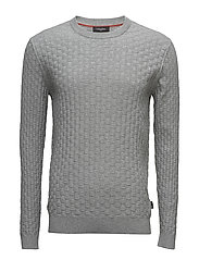 SAYMAS STRUCTURED C- - MID GREY HEATHER