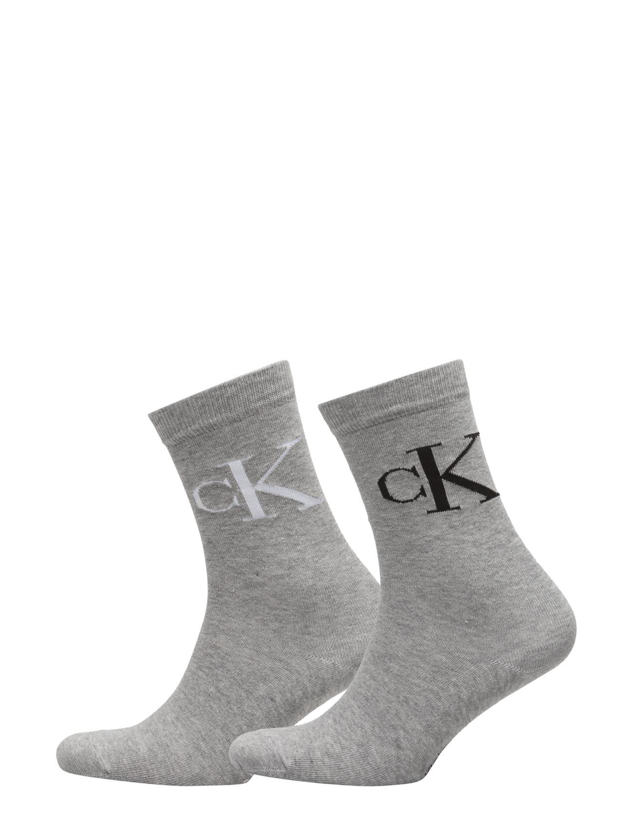 Ck Reign 2pk Vintage Logo 520 Calvin Klein Strømpebukser til Damer i