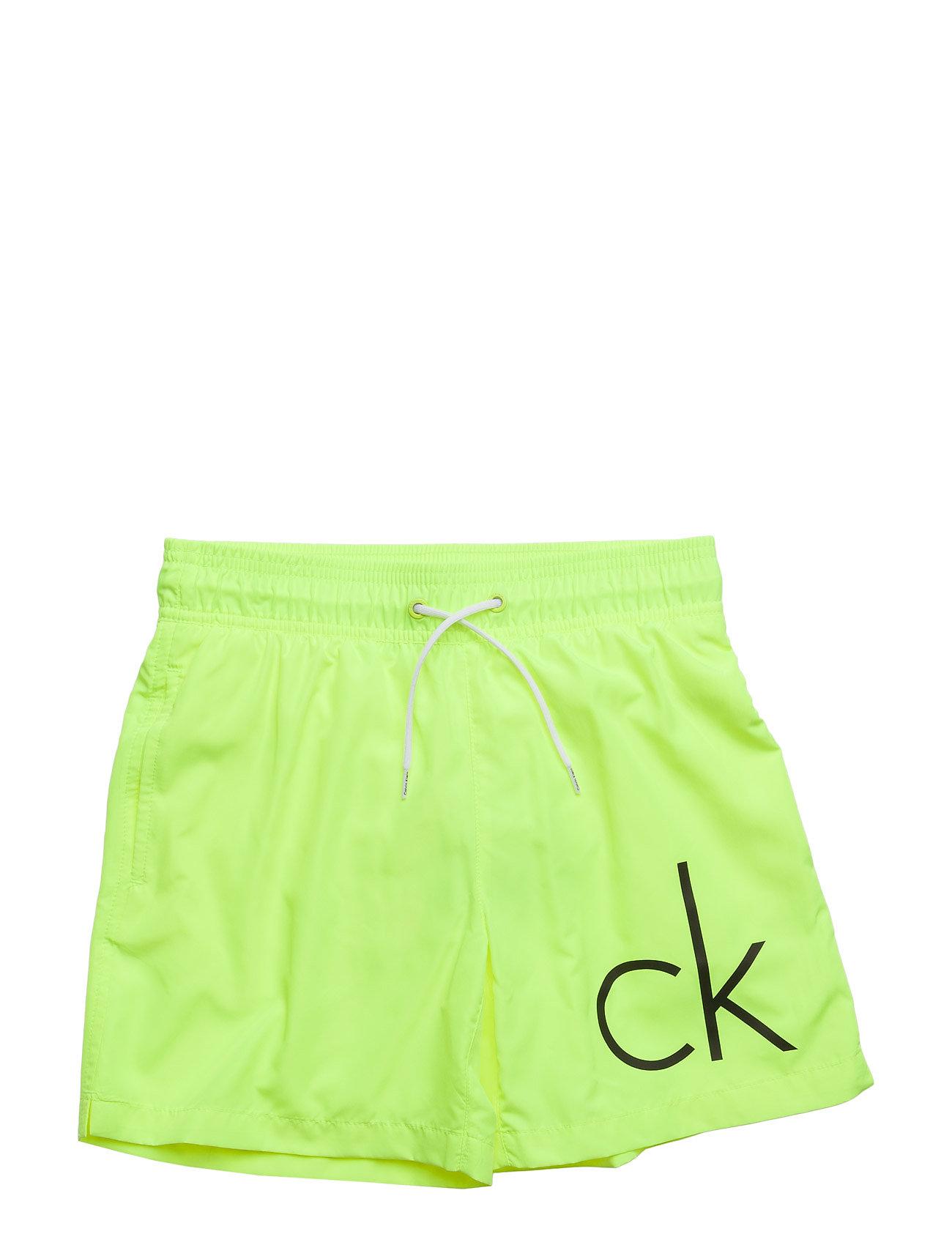 Core Neon  Medium Dr Calvin Klein Badebukser til Børn i