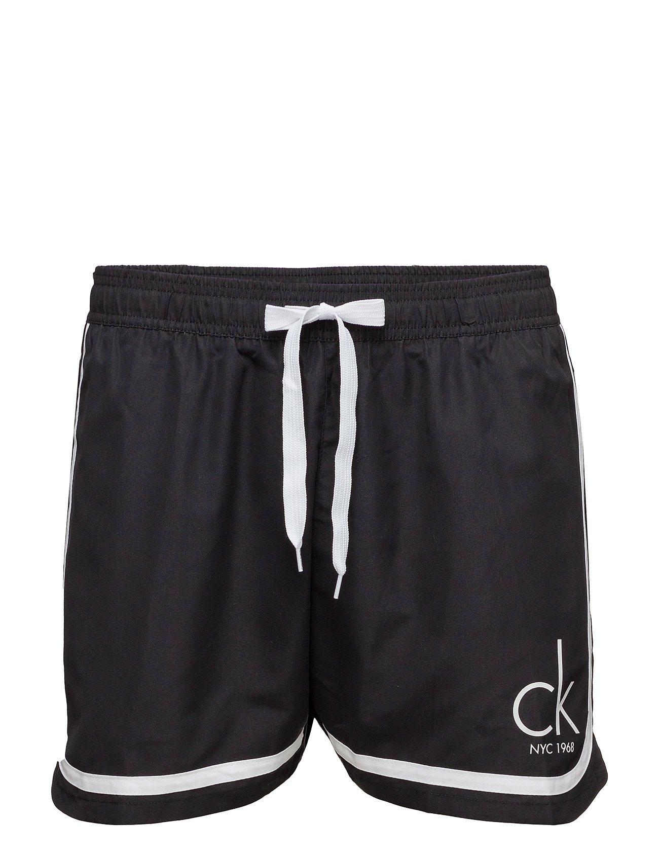 Retro Medium Drawstr Calvin Klein Bermuda shorts til Herrer i Sort
