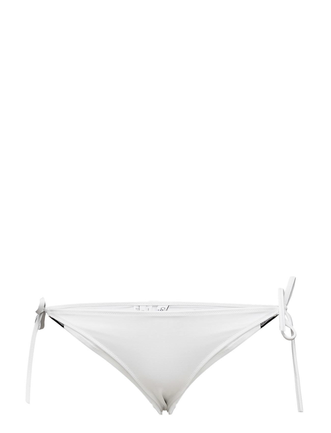 Cheeky String Side T Calvin Klein Bikinier til Damer i hvid