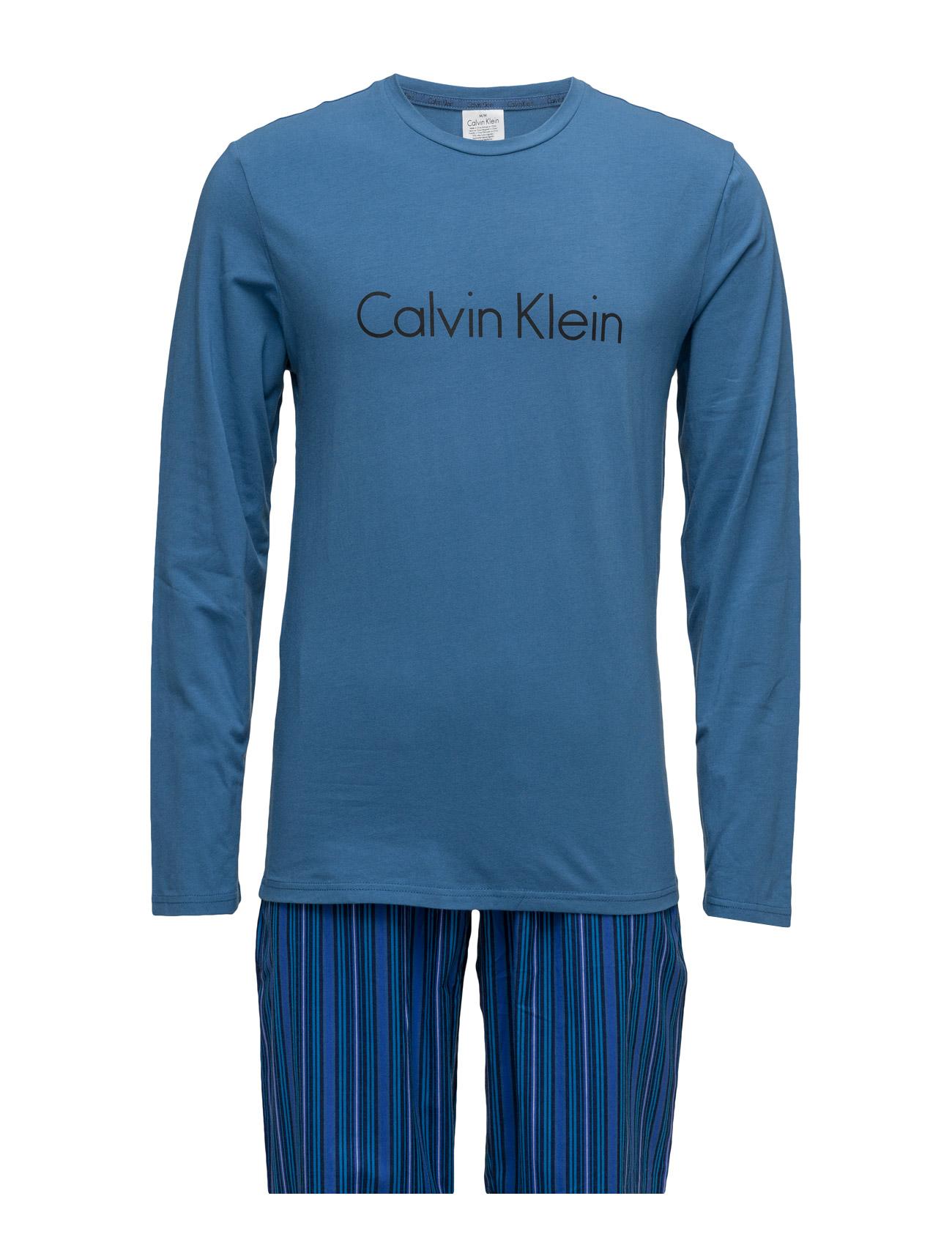 Pj Pant W L/S Crew P Calvin Klein Nattøj & Loungewear til Herrer i