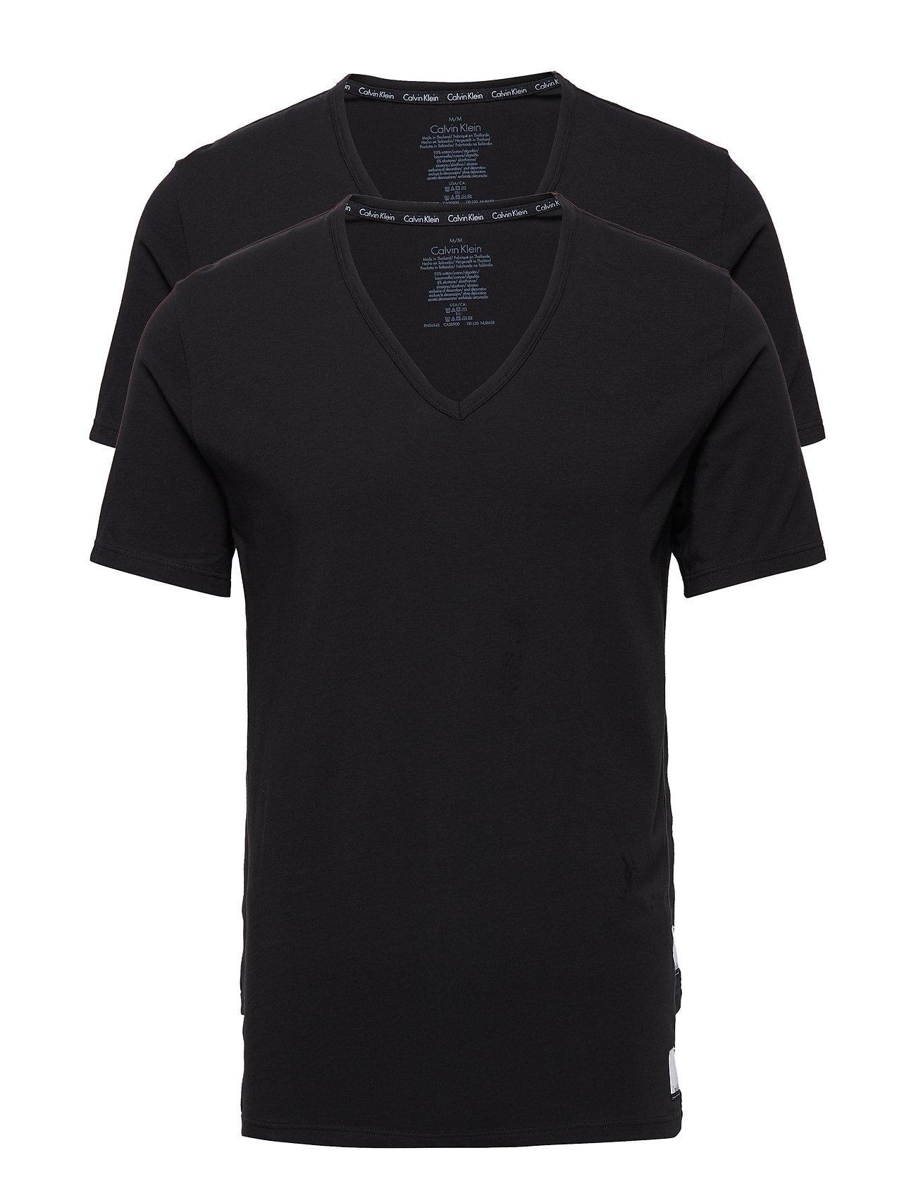 2p S/S V Neck T Slim Calvin Klein Undertøj til Mænd i