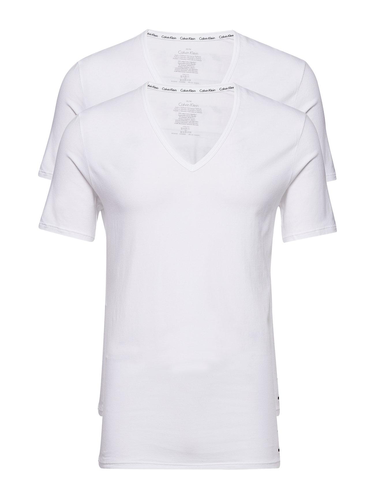 2p S/S V Neck T Slim Calvin Klein T-shirts til Herrer i