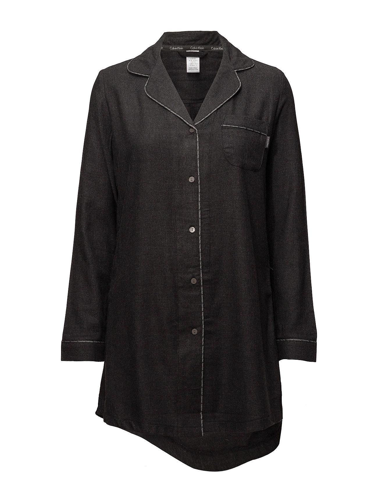 calvin klein L/s nightshirt, 038, fra boozt.com dk