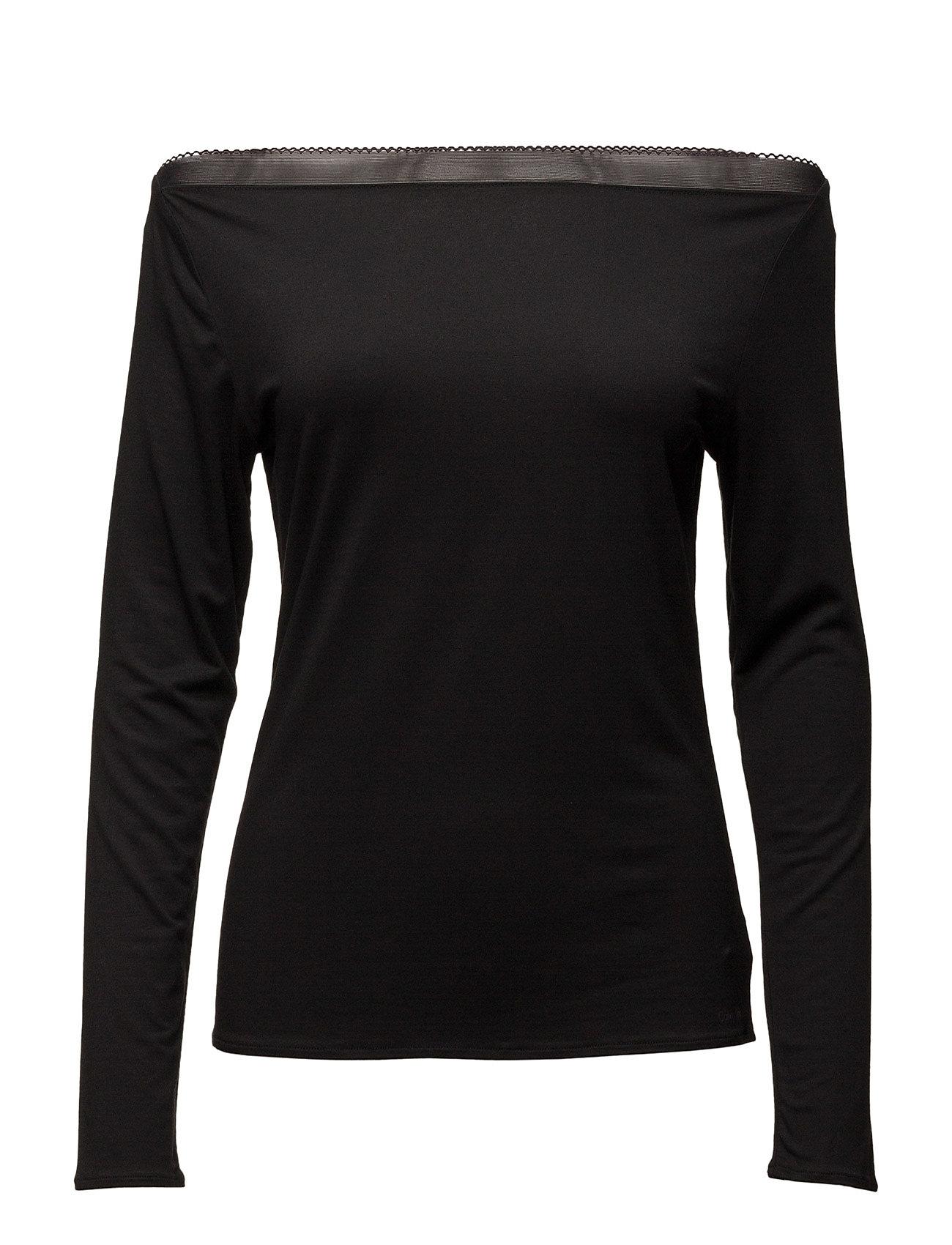L/S Pj Top Calvin Klein Loungewear til Damer i Sort