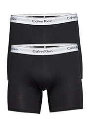 2P BOXER BRIEF 001, - BLACK