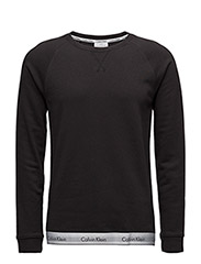 SWEATSHIRT 001, L - BLACK