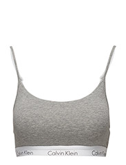 BRALETTE 001, L - GREY HEATHER
