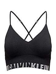 BRALETTE UNLINED LONGLINE MULTIWAY - BLACK (SOOTHING GREY LOGO)