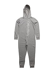 ONESIE, 016, 8-10 - GREY HEATHER